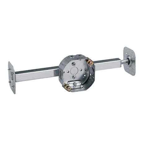 ceiling fan brace for drop ceiling 4 in 15 8 cu in pre galvanized steel octagon ceiling