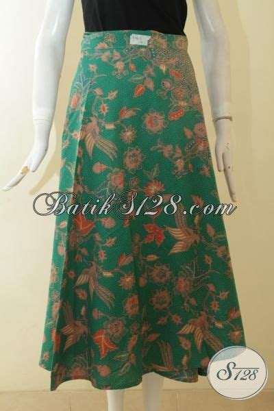 Rok Panjang Motif All Size rok batik keren untuk wanita muda batik bawahan warba hijau motif bagus batik rok pas
