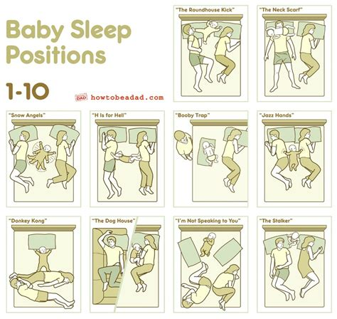 positions in bed baby sleep positions 1 10