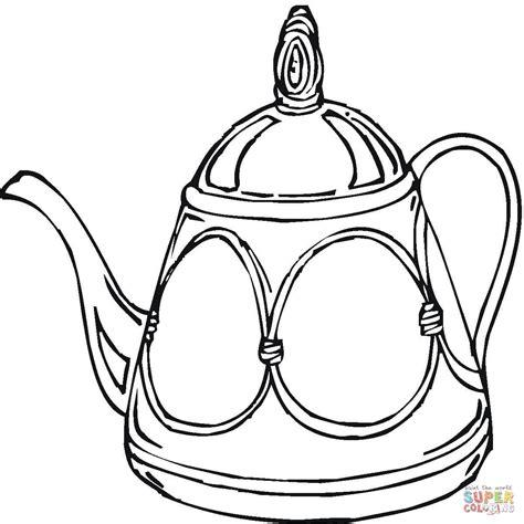imagenes para colorear jarra dibujo de tetera para colorear dibujos para colorear