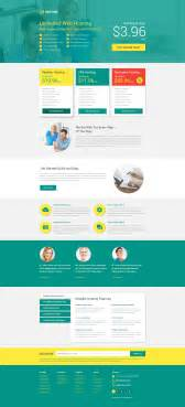 landing pages templates hosting responsive landing page template 53399