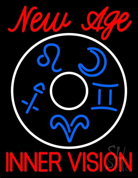 Stopl Led New Vixion Neon new age inner vision neon sign psychic neon signs