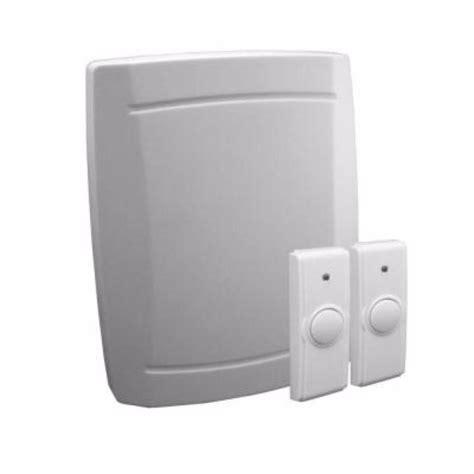 Battery Operated Wireless Doorbell - iq america wireless battery operated door chime kit 245824
