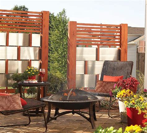 Outdoor Patio Privacy Screen by Diy Patio Privacy Screens The Garden Glove