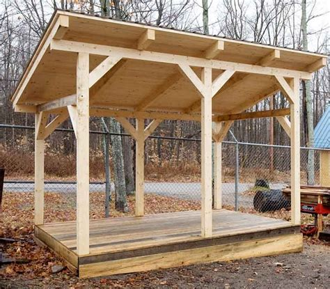 firewood storage shed to keep and organize your firewood properly