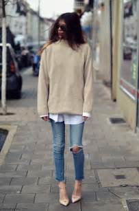 fashionn enthusiast sweater shop here fashion style guide how to wear oversized sweater this fall