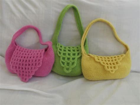 Handmade Purse Ideas - handmade tote bags crafts