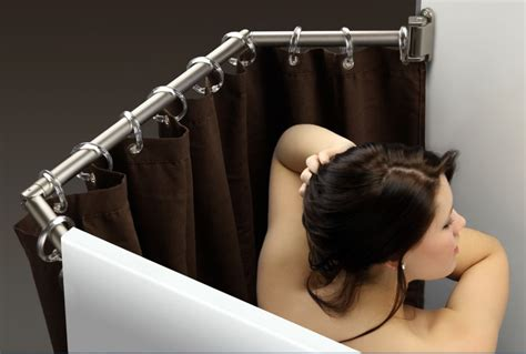 Stromberg Carlson Extend A Shower Shower Curtain Rod For