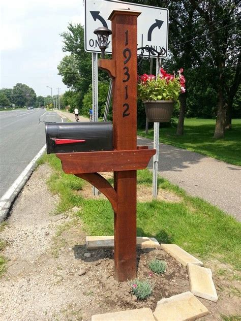 mailbox woodworking plans 17 best images about mailbox ideas on mailbox