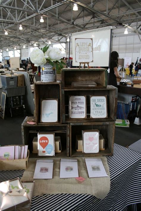 vendor display ideas wood crates are a great way to create vertical displays in