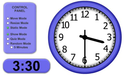 Time To Tell The mathnook teaching tools telling time clock