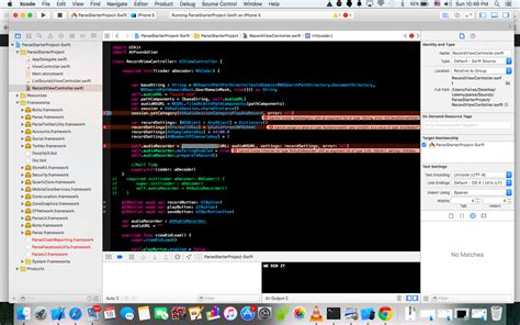 audio format for xcode swift code not working in xcode 7 setcategory