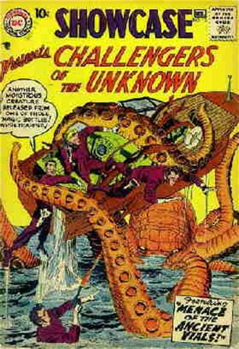 challengers of the unknown don markstein s toonopedia challengers of the unknown