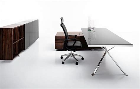minimalist office table design modern office furniture design revo by manerba