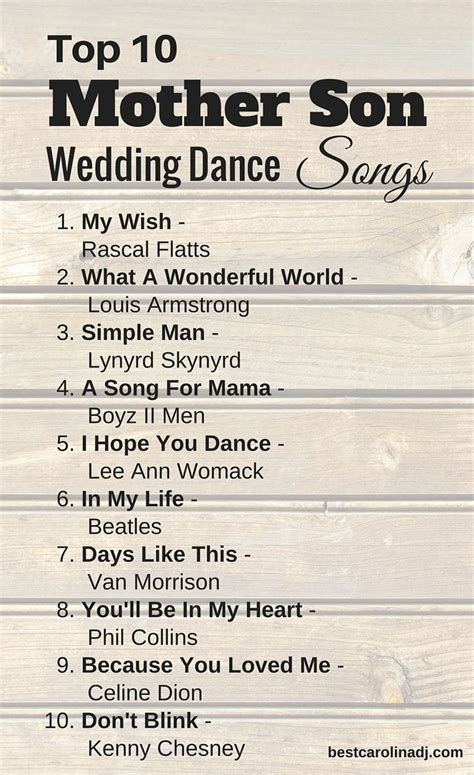 7 Songs For Your Wedding by Wedding Songs The Wedding Pin