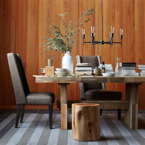 west elm willoughby leather dining chair shopstyle home willoughby leather dining chair west elm