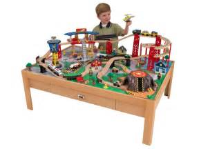Children S Train Table Kidkraft Airport Express Train Table Set Kids Woot