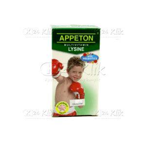 Appeton Tahun jual beli appeton lysine tab 60s k24klik