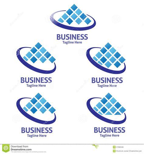 data pattern logo business data logo stock vector image 57365346
