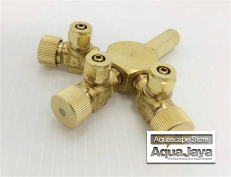Ista Precise Co2 Pressure Regulator For Aquascape ista co2 splitter 3 way cabang 3 tri regulator for aquascape aquajaya