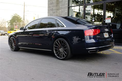 audi a8 with rims audi a8 with 22in savini bm9 wheels exclusively from