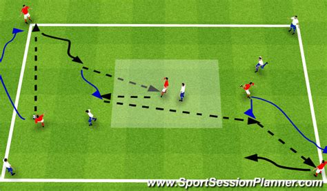 footballsoccer drsa boys possession switching play