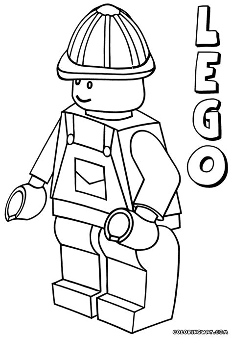 Lego Minifigure Coloring Pages Lego Minifigure Coloring Page Periodic Tables by Lego Minifigure Coloring Pages