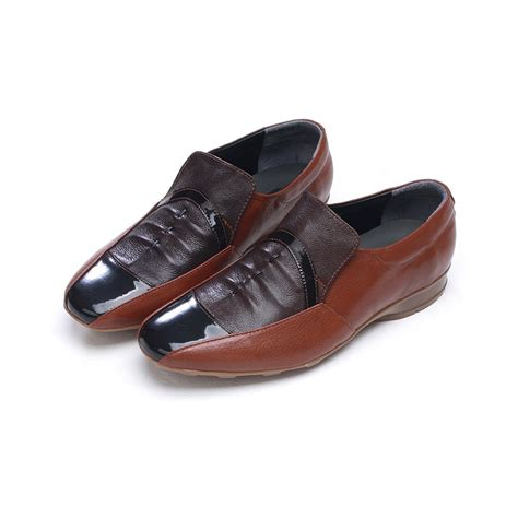 Comfort Dress Shoes For by Mens Unique Wrinkle Multi Color Sheepskin Comfort Dress Shoes