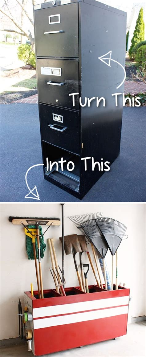 cool garage storage 18 clever and cool diy furniture hacks the art in life