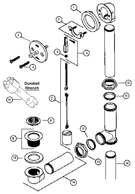 tub parts diagram 7 bathtub plumbing installation drain diagrams