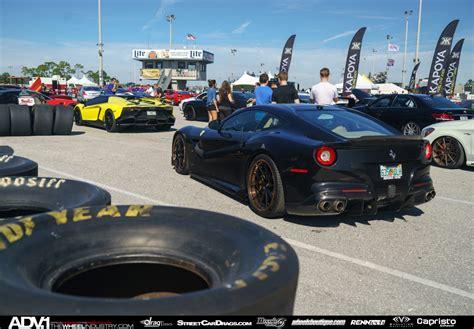 black ferrari back black ferrari f12 berlinetta adv10r track spec cs series