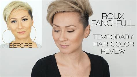 fanci temporary hair color roux fanci temporary hair color rinse review