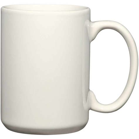 with white promotional 15 oz white el grande mugs with custom logo for 1 36 ea