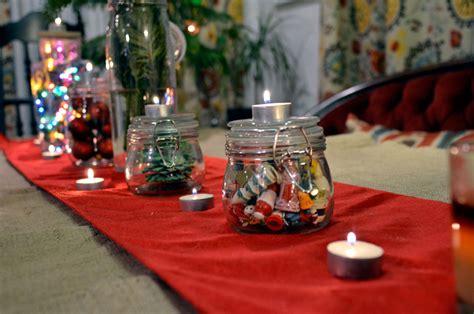 mr kate holiday diy 5 glass jar centerpiece