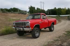 4x4 Dodge Ram 1982 Dodge Ram 1500 4x4 Shortbox Low For Sale