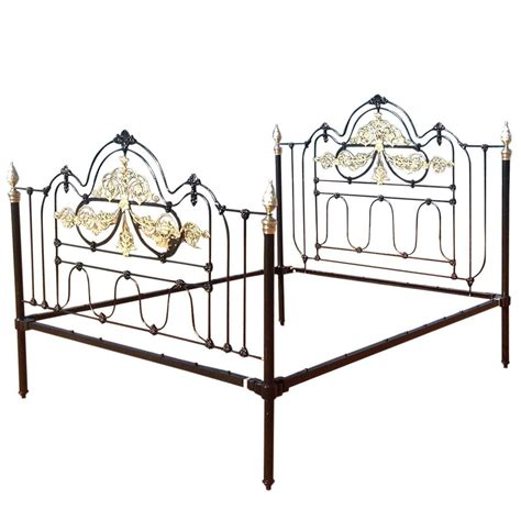 cast iron bed wide decorative cast iron bed for sale at 1stdibs