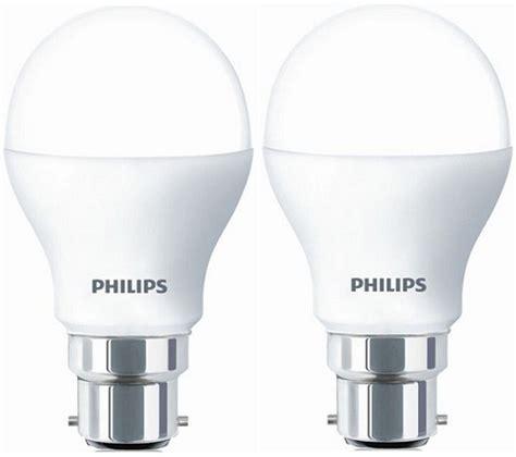 Philips Lu Led 4w 1 Pcs buy philips 4w b22 pin type 2 pcs white led bulb best