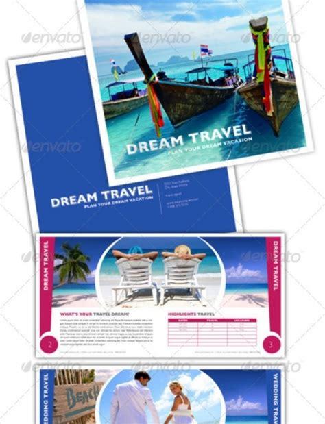 desain brosur pariwisata contoh brosur travel downlllll