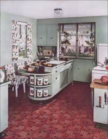 Retro Kitchen Canisters 1940s vintage kitchen by armstrong here s cutie the
