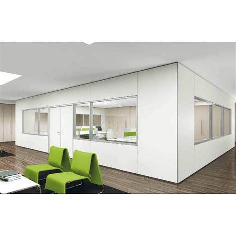 las mobili per ufficio parete divisoria in vetro o cieca modello infinity ideal