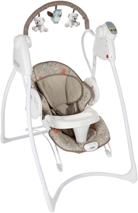 graco animal swing graco swing n bounce woodland baby swings 163 158 99