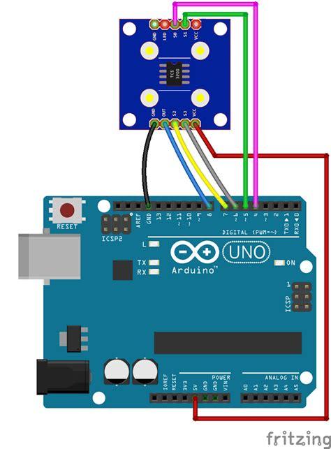 arduino color sensor arduino color sensor tcs230 tcs3200 random tutorials
