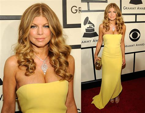 Grammy Awards Fergie by Grammy Awards Fergie Popsugar Fashion