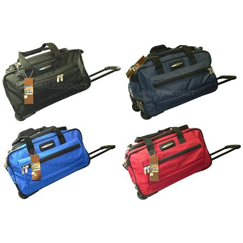 18 Inch Luggage Bag 18 quot inch jeep wheeled holdall duffle travel cabin bag ebay