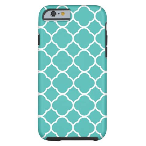 Iphone X Adidas Geometric On Wood Hardcase modern teal geometric pattern trendy tough iphone 6 plus