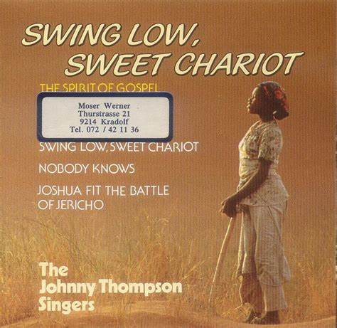johnny swing low sweet chariot the johnny thompson singers bensound musikshop