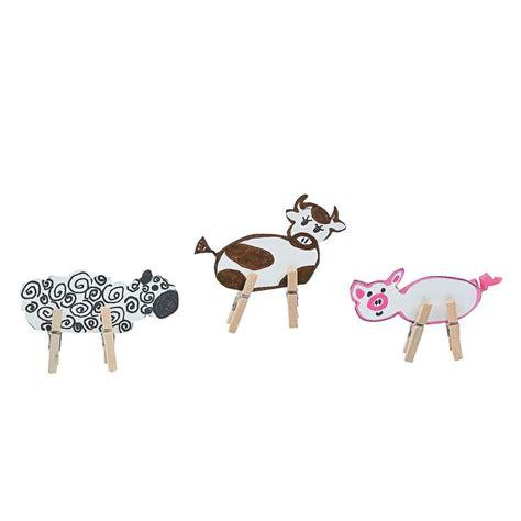 Animals Coelacanth Miniature Papercraft diy craft mini clothespin farm animals orientaltrading craft ideas