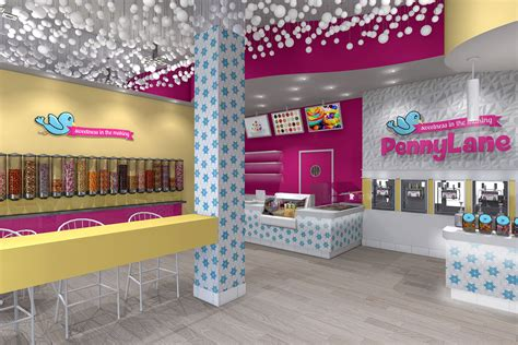 Interior Design Interior Design Interior Design Of Yogurt Shops Commercial Interior