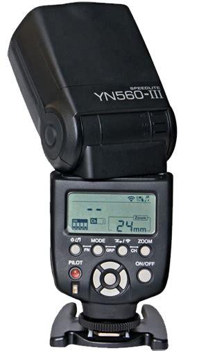 Flash Yongnuo 560 Iii yongnuo yn560 iii flashgun announced with built in 2 4ghz