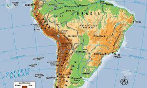 mapa topografico america sur mapas de america para colorear mapa f 237 sico geogr 225 fico
